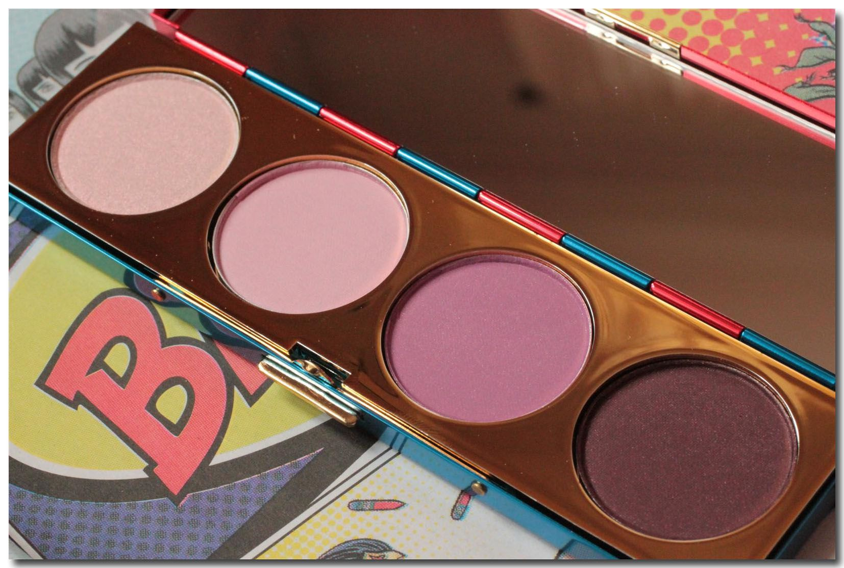 MAC Wonder Woman Defiance Eye Shadow Palette, one of my