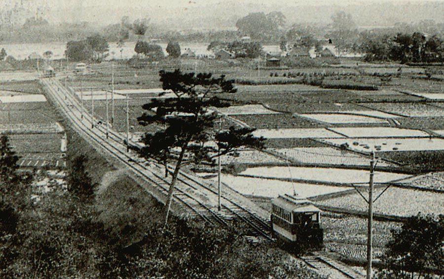 1907年(明治40年)玉川電気鉄道、三軒茶屋~玉川間開業。瀬田-行善寺 ...