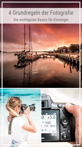 Fotografie Grundlagen • Die 4 wichtigsten Grundbegriffe der Fotografie