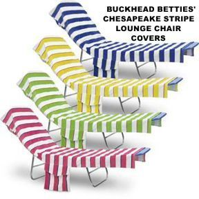 Excellent Buckhead Betties Chesapeake Striped Lounge Chair Covers 2 Inzonedesignstudio Interior Chair Design Inzonedesignstudiocom