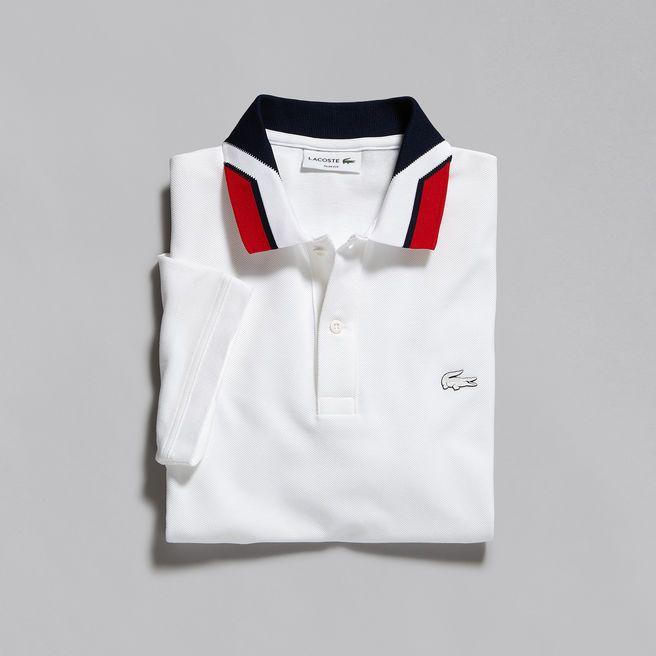 Men's Lacoste Color block Slim Fit Polo | LACOSTE | Polo shirt ...