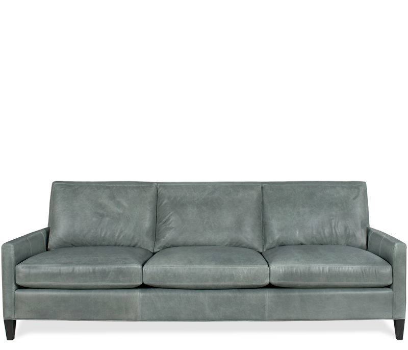 Bryce 3 Cushion Leather Sofa This Item May Be Custom Ordered In
