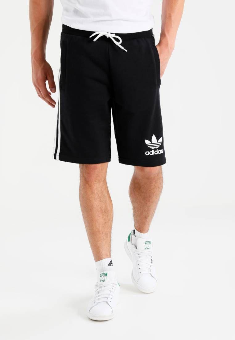 best loved ecf6a 493e0 adidas Originals. STRIPED - Short - black. Modelo, altura 188 cm,