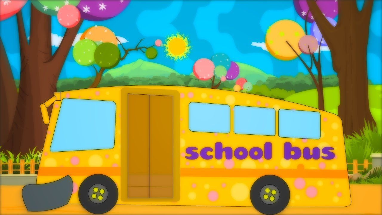 School Bus Song With Images Kids Songs Preschool Circle Time