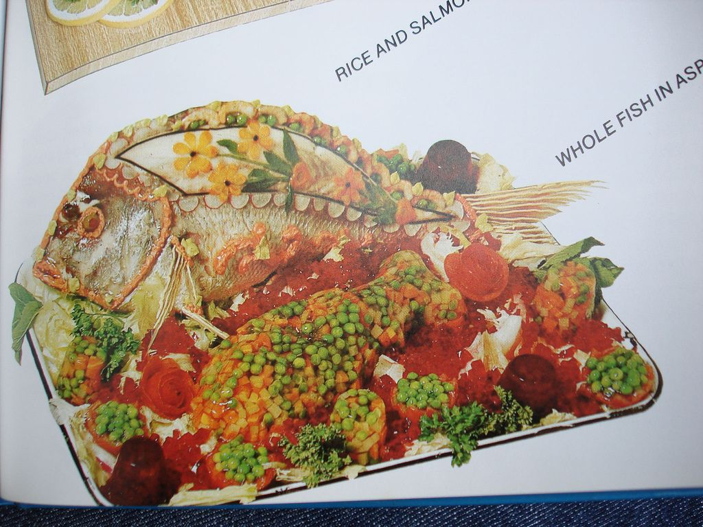 whole fish in aspic | Crazy & Odd Food | Scary food, Weird
