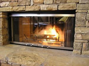 Replacement Gl Fireplace Doors For Superior Lennox Fireplaces 229 269 Ebay