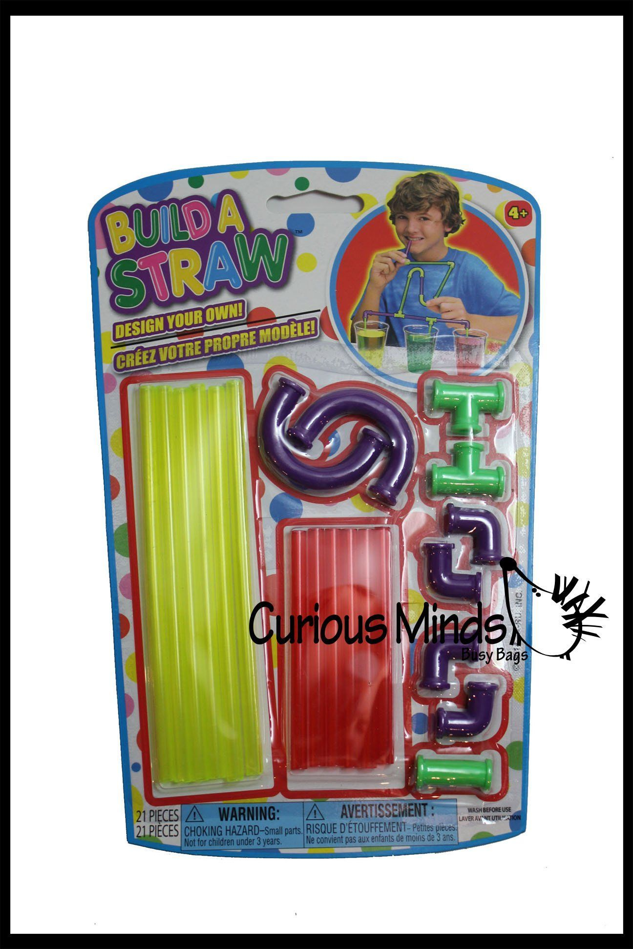 Build a Straw Fine Motor Building Toy