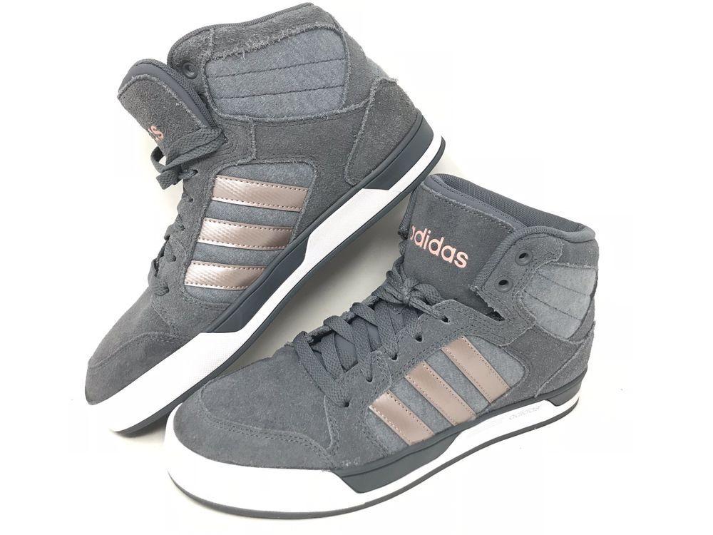 Womens Adidas Neo Cloudfoam White Black