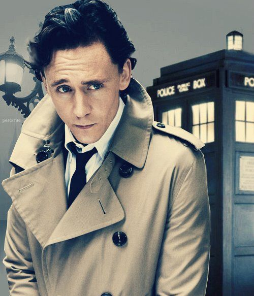 Doctor Who and the Tardis by Craig Hurle - Tom Hiddleston would make a great doctor
