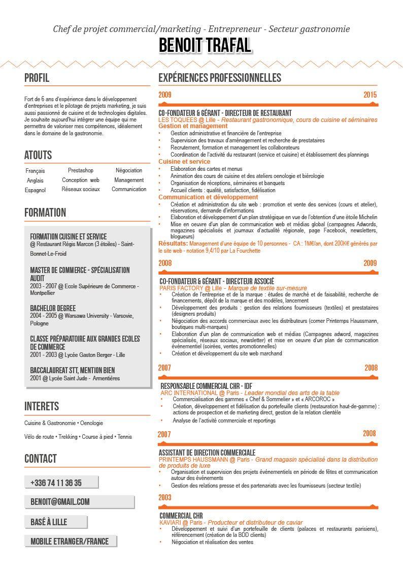 Nous Avons Organise Le Contenu Selon Les Mots Cles Et Sel By Pauline Lahary Curriculum Design Graphique Resume