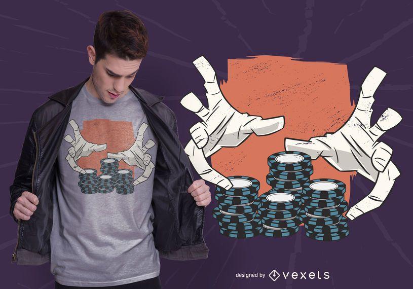 Casino hands t shirt design #AD , #affiliate, #SPONSORED, #hands, #shirt, #design, #Casino