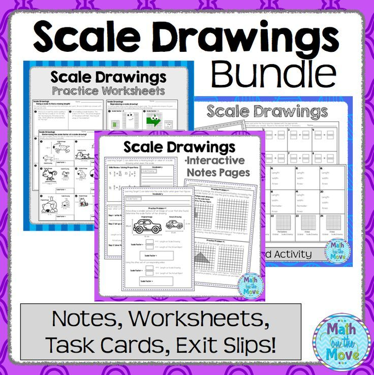 Scale Drawings Bundle 7 G 1 With Images Scale Drawing