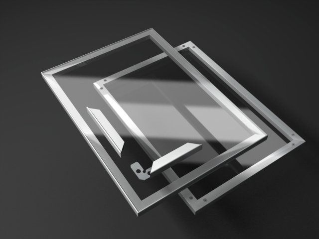 Aluminum Frame Cabinet Doors With Clear Glass Framed Cabinet Glass Cabinet Doors Quality Kitchen Cabinets
