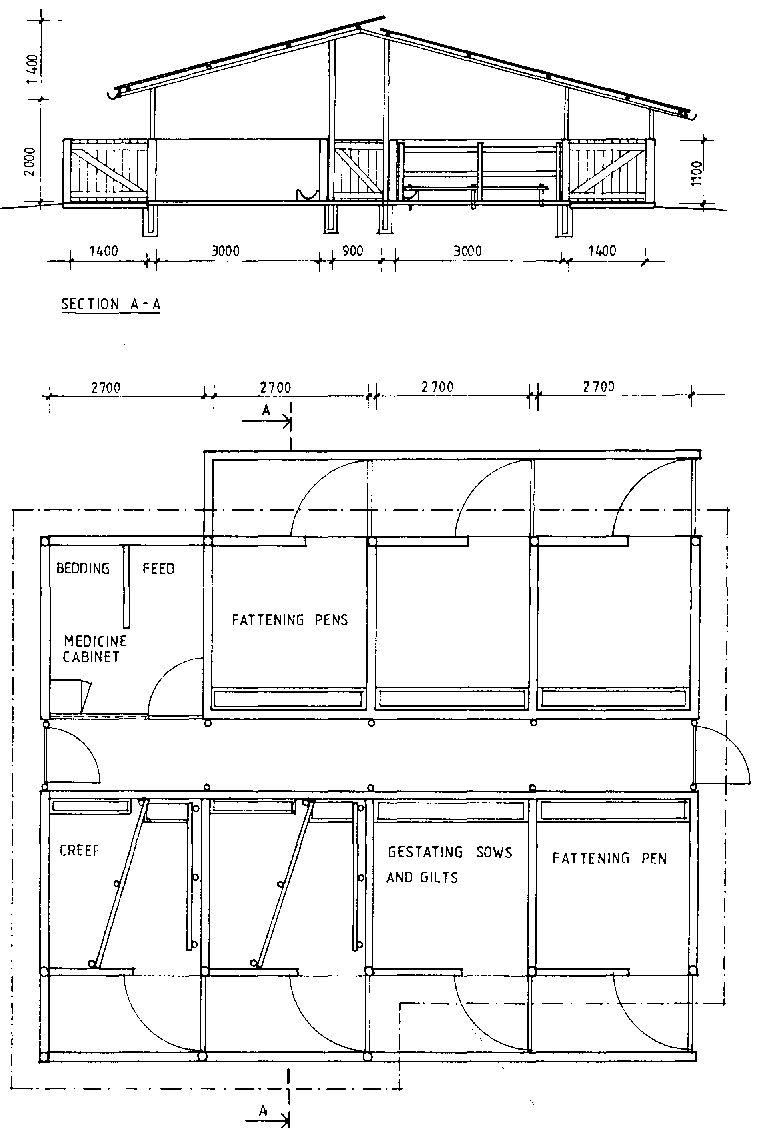Pin By Gareth Fuge On Pig Housing Pig Farming Pig House Poultry Farm Design