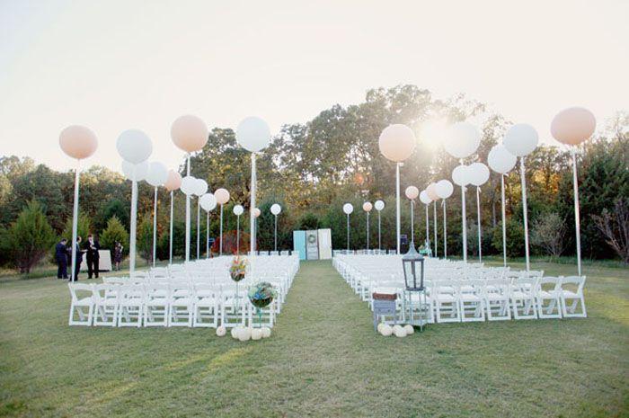 7 Möglichkeiten, um das Beste aus Ihren Hochzeitsballons herauszuholen