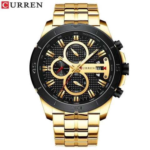 Luxury Brand Stainless Steel Wrist Watch #stainlesssteelrolex