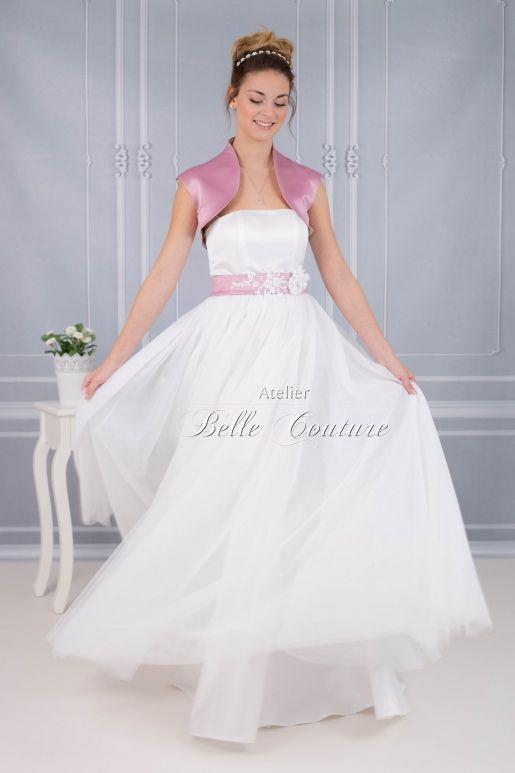 Atelier Belle Couture | bodenlanges Brautkleid im Vintage Stil ...