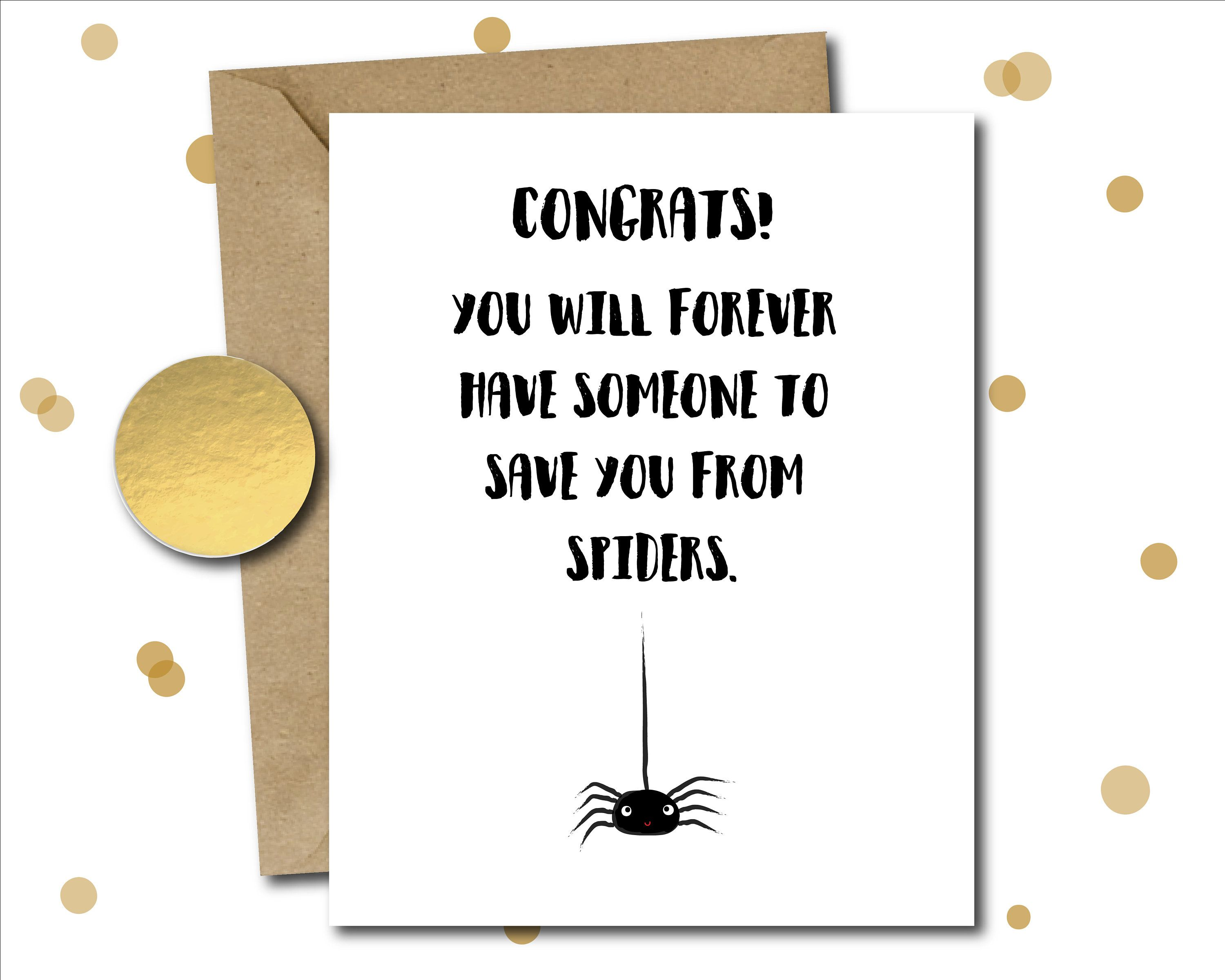 funny bridal shower card wedding shower card bridal shower gifts wedding shower gift