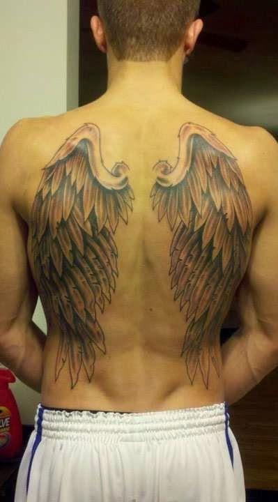 Resultado De Imagen De Tatuaje Alas Espalda Hombre Tatuajes