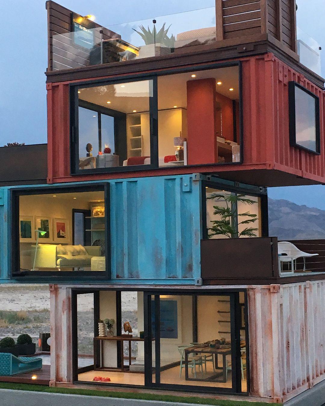 32 1 Tys Otmetok Nravitsya 330 Kommentariev Architecture Design Architectanddesign V Ins Container House Container House Plans Container House Design