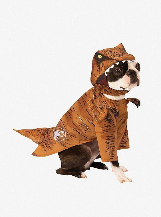 Jurassic World Fallen Kingdom TRex Dog Costume Pet