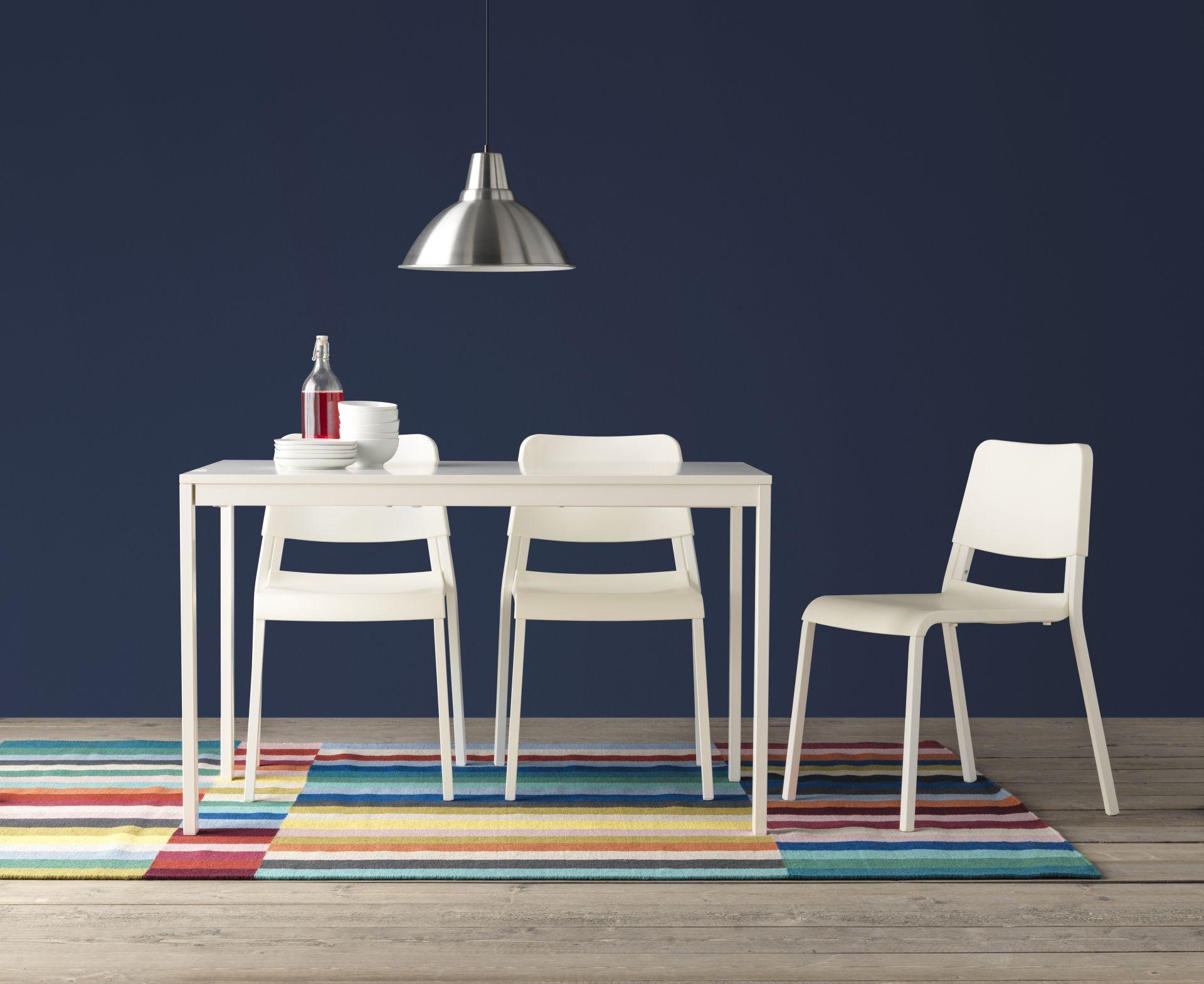 VANGSTA Uitschuifbare tafel, wit | Product development and Catalog