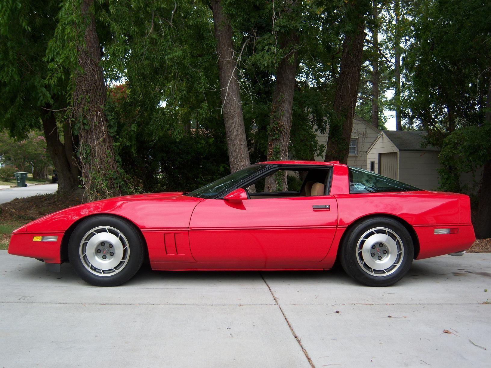 1987 Chevrolet Corvette Coupe Corvette For Sale Little Red Corvette Red Corvette