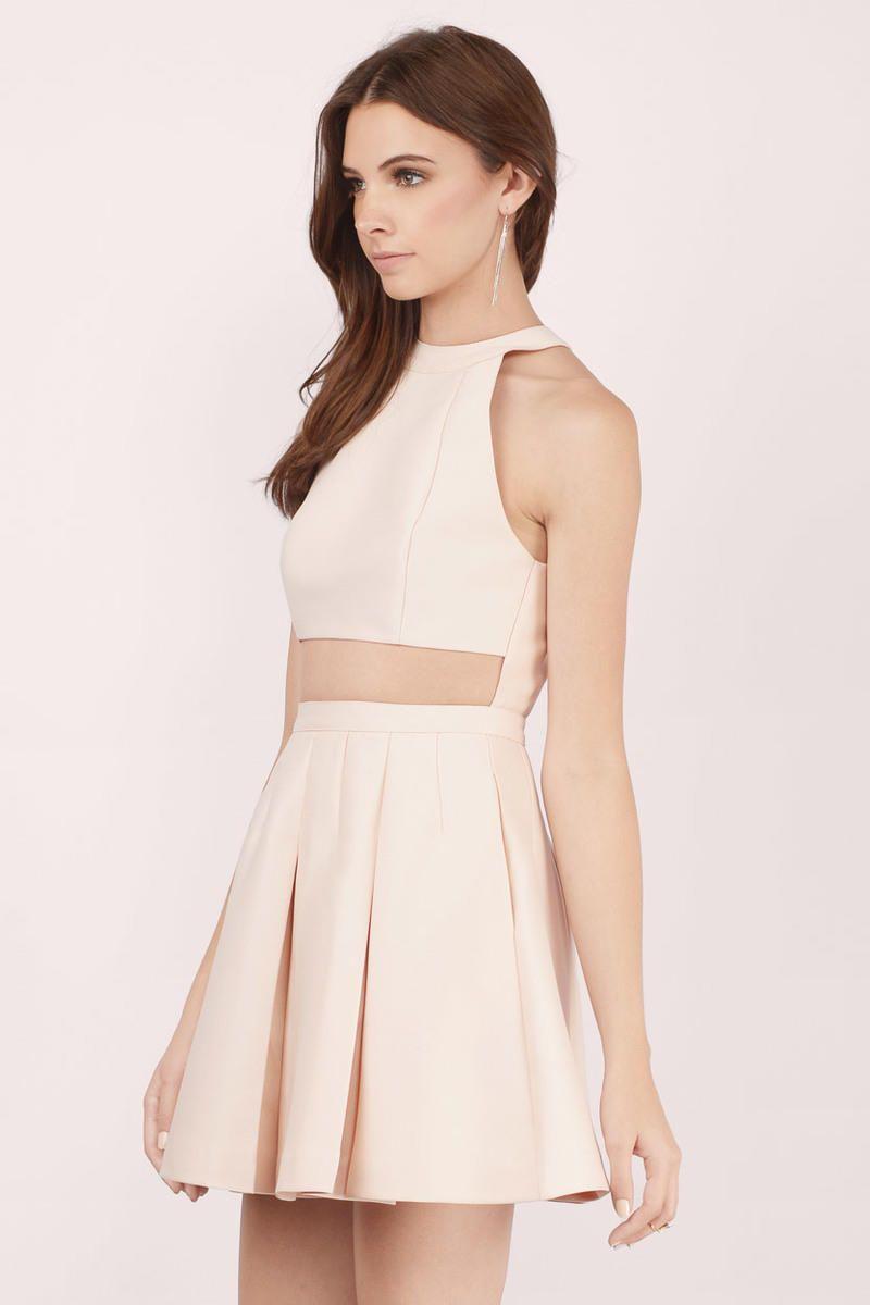 Florence Halter Skater Dress