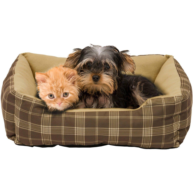 Pet Bed 19'x15' Cuddler Fiber Blend by Soft Spot >>> You