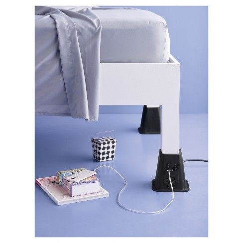 Best Usb Power Bed Risers Room Essentials™ Bed Risers Room 400 x 300
