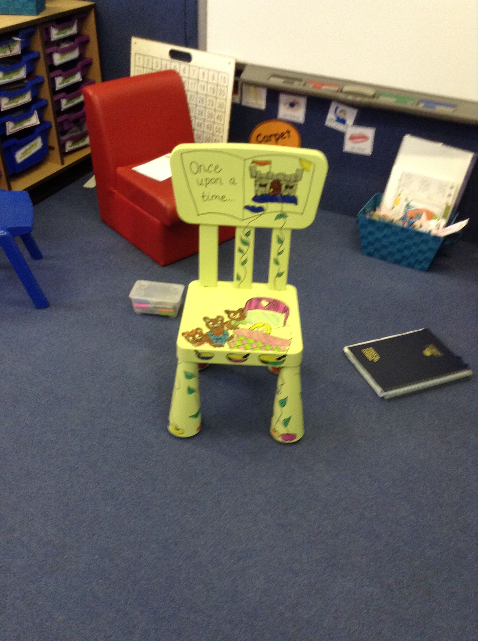 Story Chair Eyfs Style Classroom Chairs High Back Dining