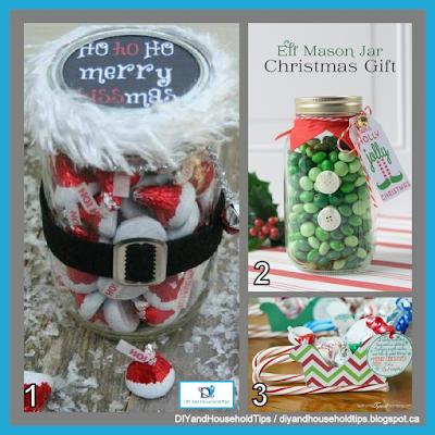 DIY And Household Tips: 3 Homemade Christmas Candy Gifts   Christmas ...