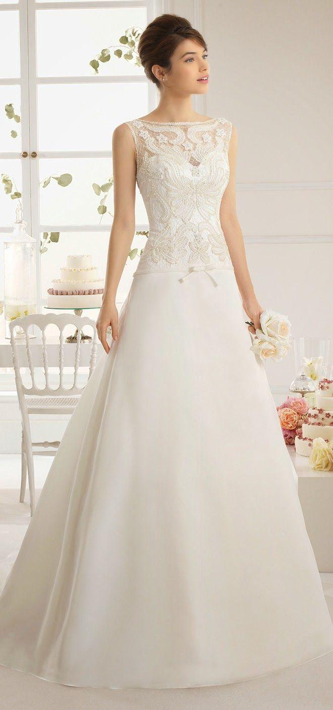 Aire Barcelona 2015 Bridal Collection - Part 2 | Brautkleider ...
