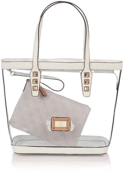 72e2696ee90e Cotton Tote Bags  Guess Clear Tote Bags