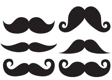 Moustache template scrap plantillas pinterest for Mustache print out template