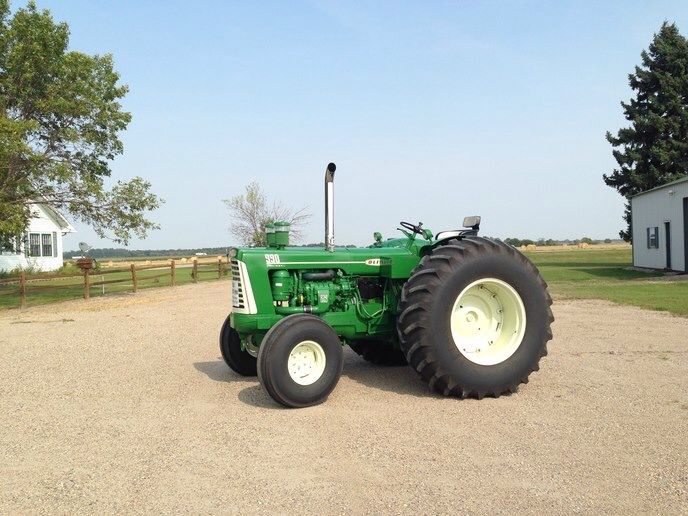 Oliver 990 Tractor : Oliver gm diesel tractor this was