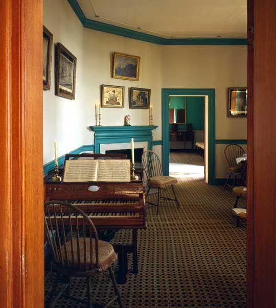 George Washington's Mount Vernon Little Parlor, Alexandria