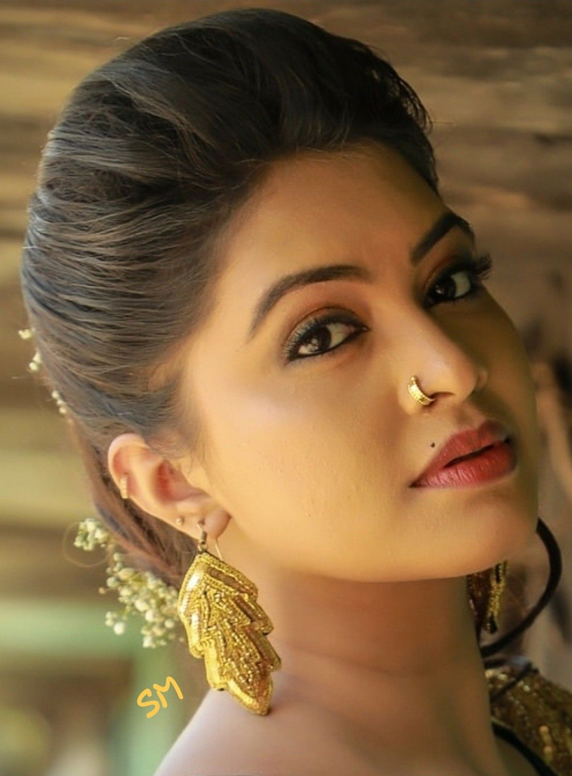 Rachitha Indian Long Hair Braid Beautiful Girl Indian