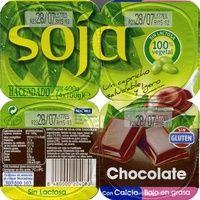 """Postre de soja """"Hacendado"""" Chocolate - Producto"""