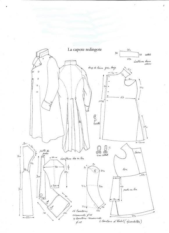 patrones uniformes de época - general de la butaca y HistoryNet ...
