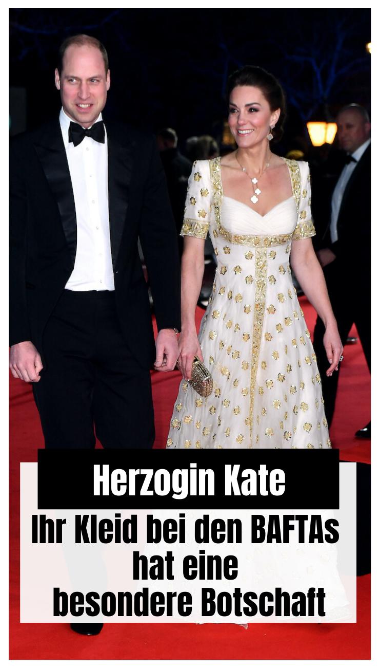 Herzogin Kate strahlt bei den BAFTAs in 2020 | Herzogin ...
