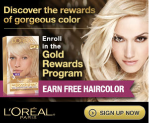 L oreal gold rewards codes