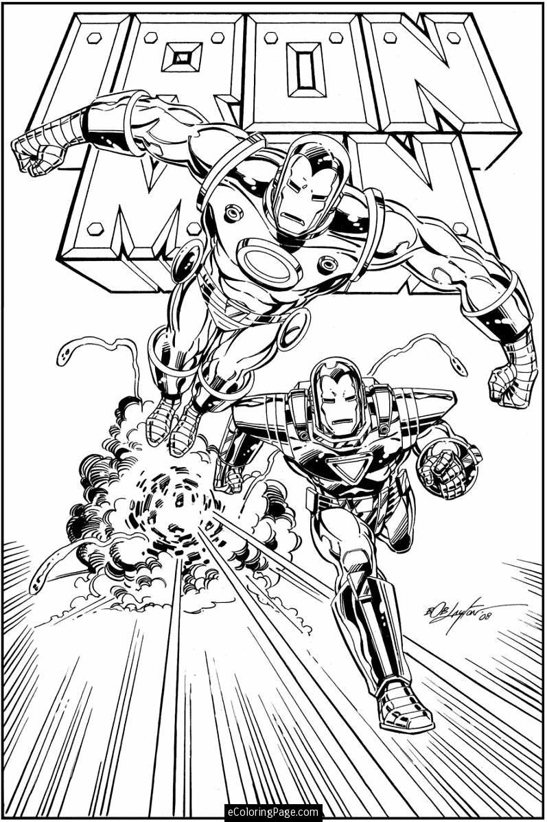 Marvel comics coloring pages printable ~ Iron Man | Cool coloring pages, Marvel coloring, Printable ...