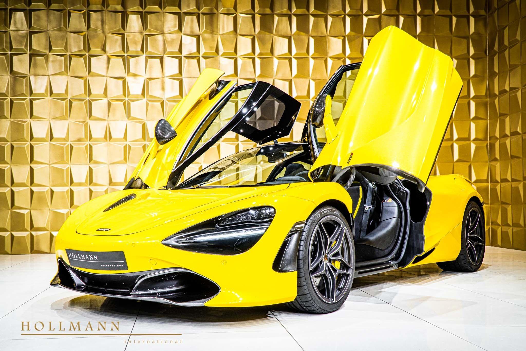 31++ Yellow mclaren 720s 4k