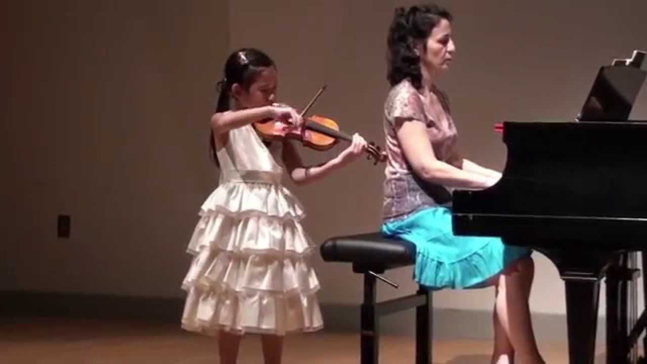 Concerto In A Minor Accolay See More Of Young Violinist Daughter From Richroyarina Violinists Violinist 10 Month Olds