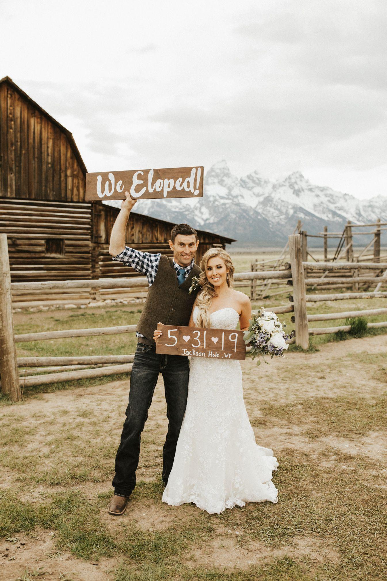 Jackson Hole Grand Teton National Park Elopement Photos Calder Photography Wyoming Weddings Jackson Hole Wedding Jackson Hole