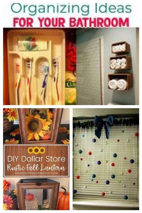 Dollar Store Organizing - Bathroom Organization Ideas On A ...