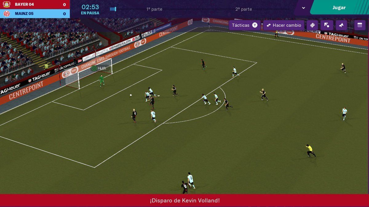 Football Manager 2019 Touch para Switch ya disponible en