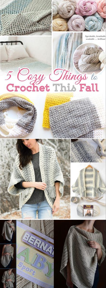 Photo of 5 Cozy Things to Crochet – Free Patterns for Beginners – Craft-Mart