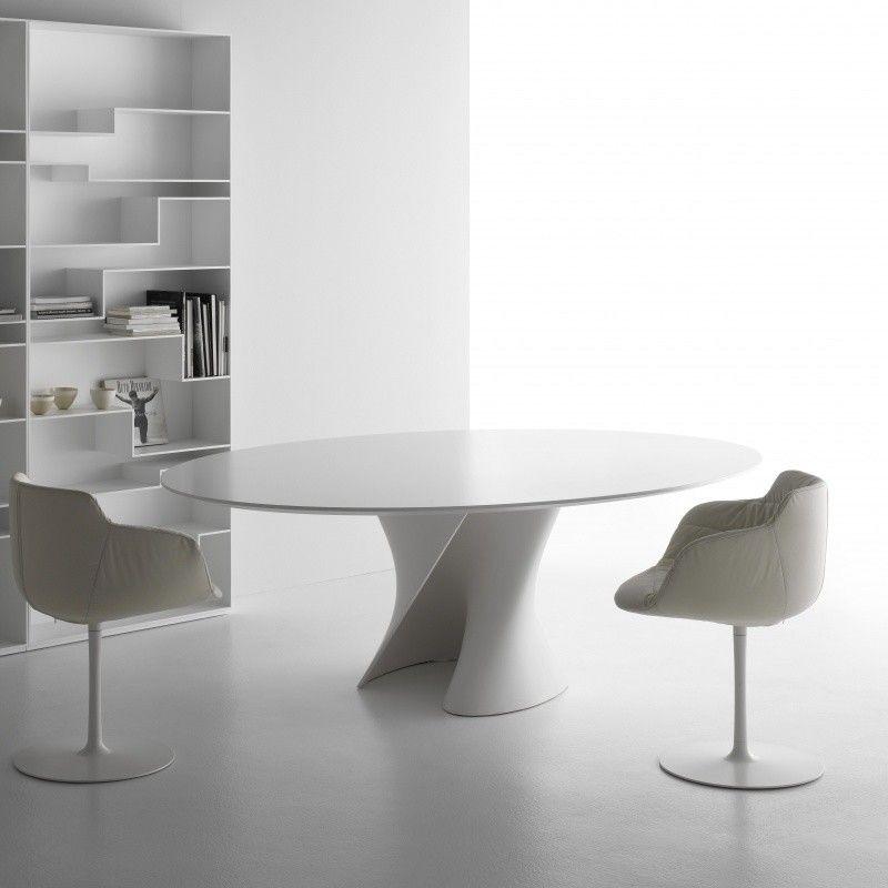 S Table Esstisch Gestell Weiss Italienische Mobel Tisch Moderner Tisch